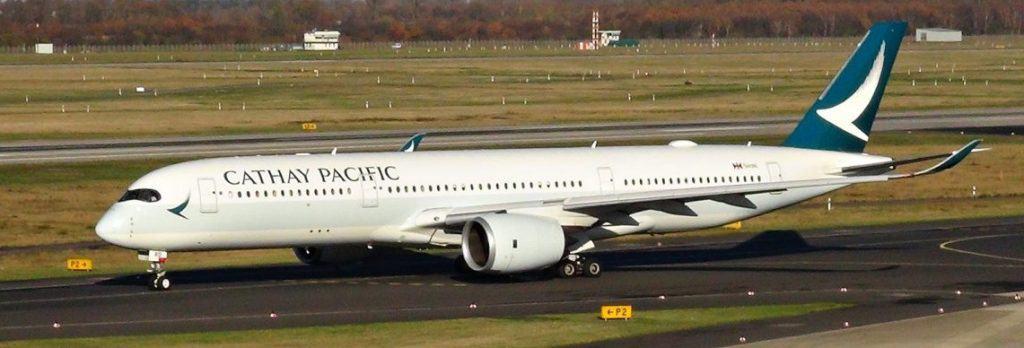 Cathay Pacific Airbus A350 Premium Economy