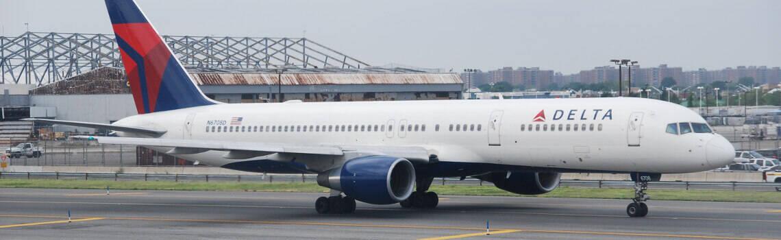 Delta Comfort Plus Flugzeug
