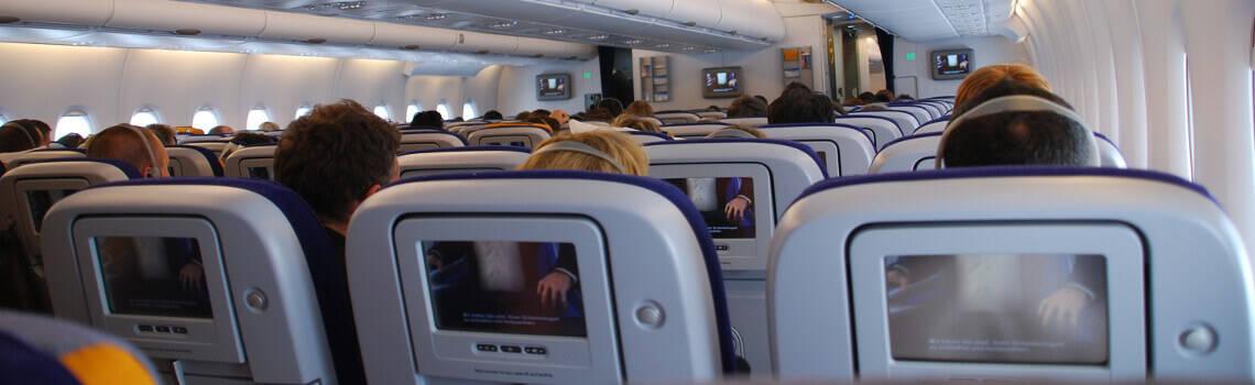 Lufthansa Premium Economy Innenraum